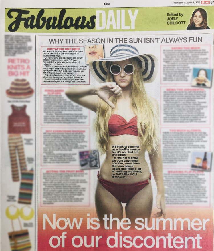 The Sun Fabulous Summer of Discontent