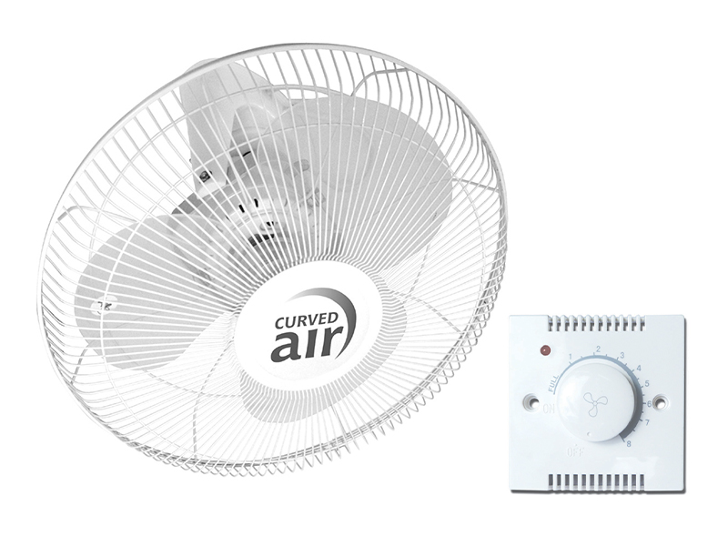 "16"" Oscillating Ceiling Fan With Remote Control"