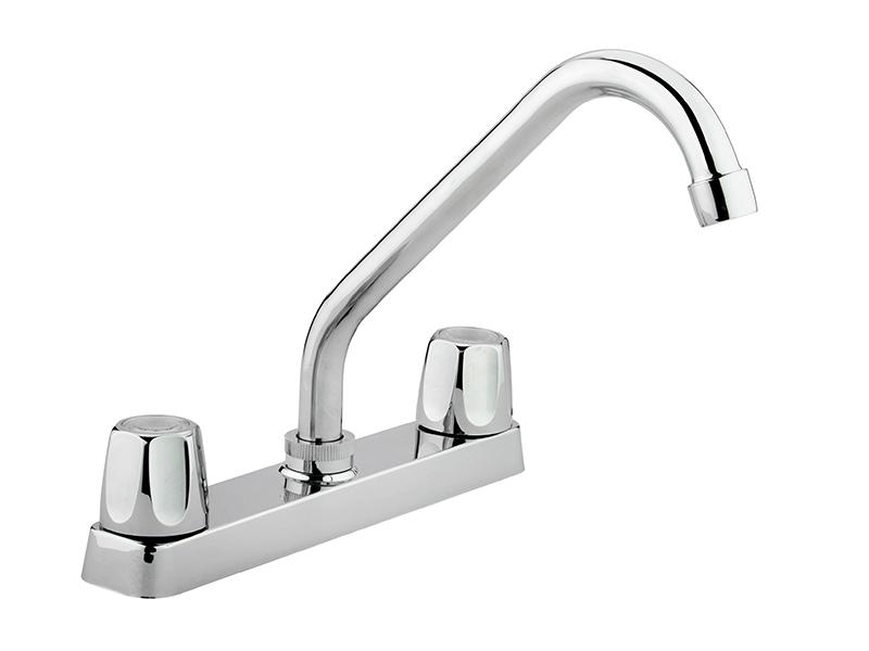 """8"""" Chrome Kitchen Faucet"""