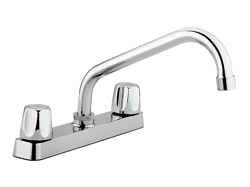 """8"""" Economy Chrome Kitchen Faucet"""