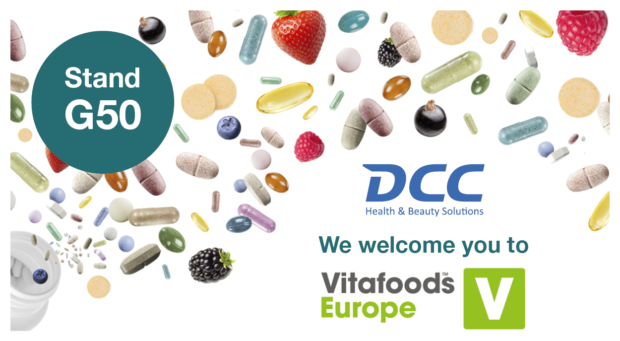 We welcome you to Vitafoods in Geneva 7-9th of May 2019!