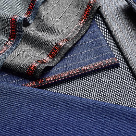 Made In Huddersfield DUGDALE BROS Plain Dark Navy All Wool Coat Fabric. 600g