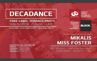 Free Label Terrace Party