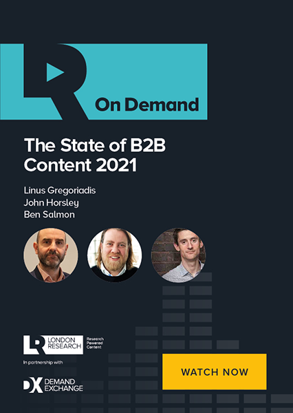 The State of B2B Content 2021 - Watch Now