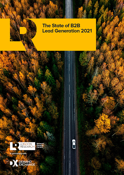 The State of B2B Lead Generation 2021