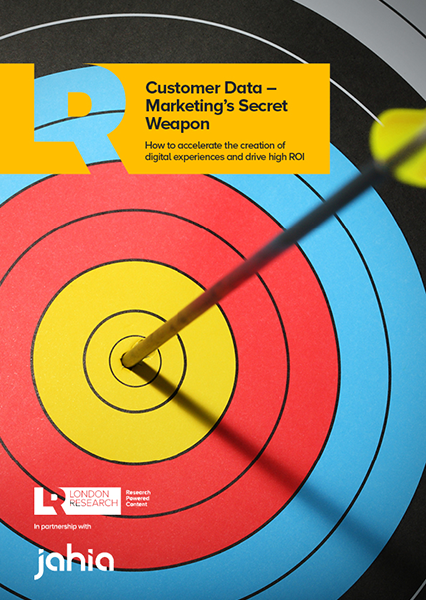 Customer data – Marketing's Secret Weapon