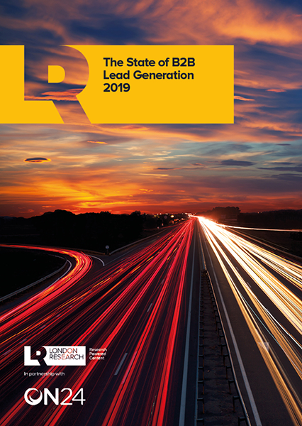 The State of B2B Lead Generation 2019