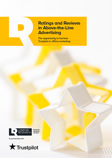 Ratings and Reviews in Above-the-Line Advertising