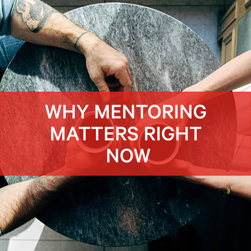 BIMA Hangouts   Why Mentoring Matters Right Now