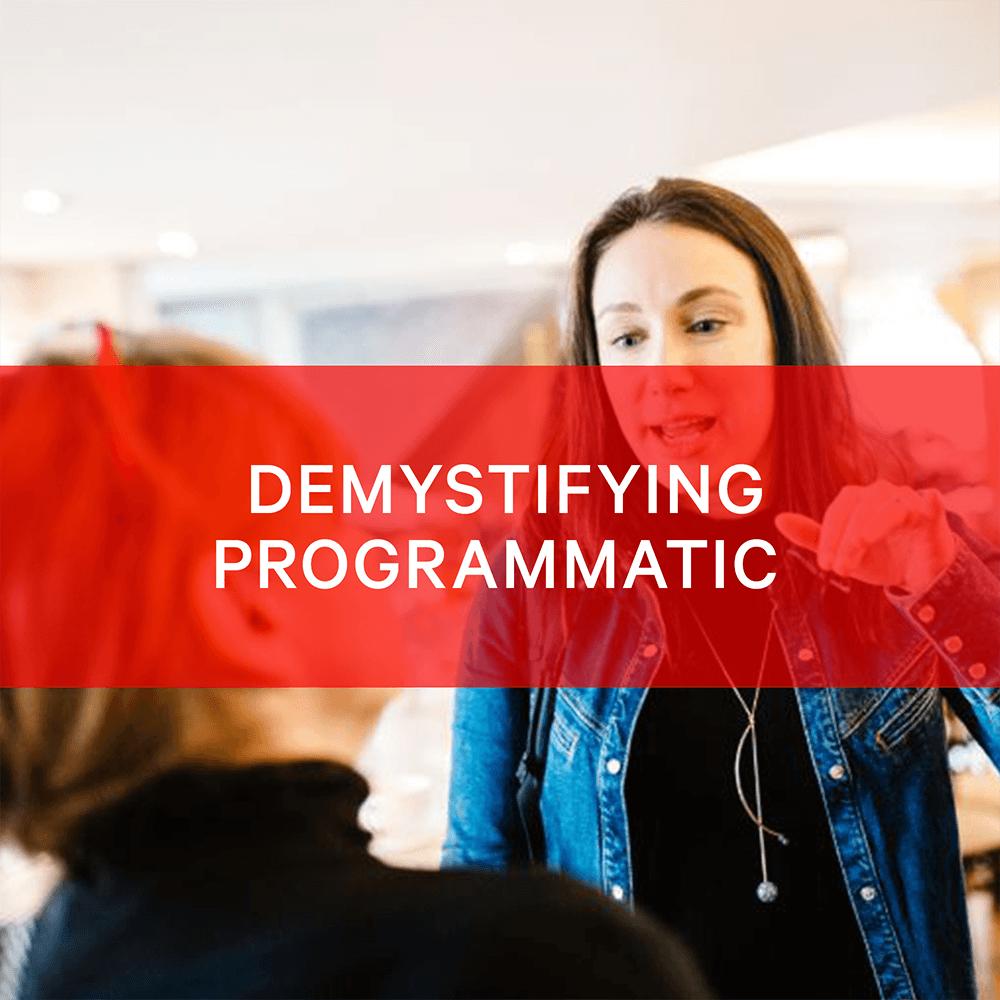BIMA Hangouts | Demystifying Programmatic