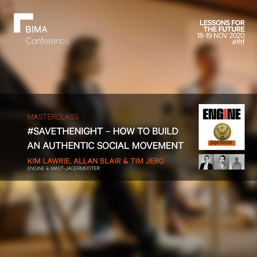 #SaveTheNight - How to Build a Purpose Drive Movement | Engine & Jägermister