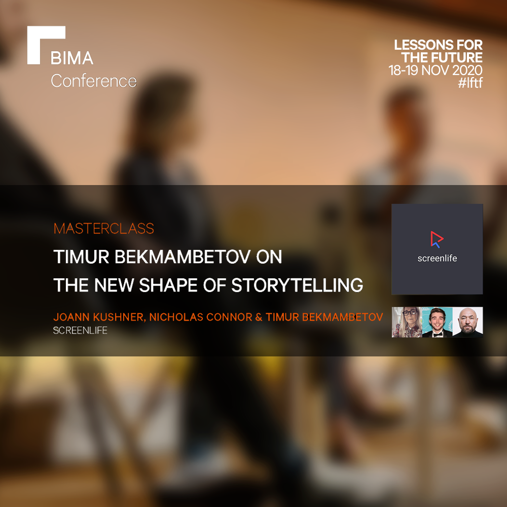 Timur Bekmambetov on The New Shape of Storytelling