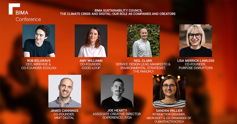The Climate Crisis and Digital: Our Role as Companies and Creators | BIMA Sustainability Council