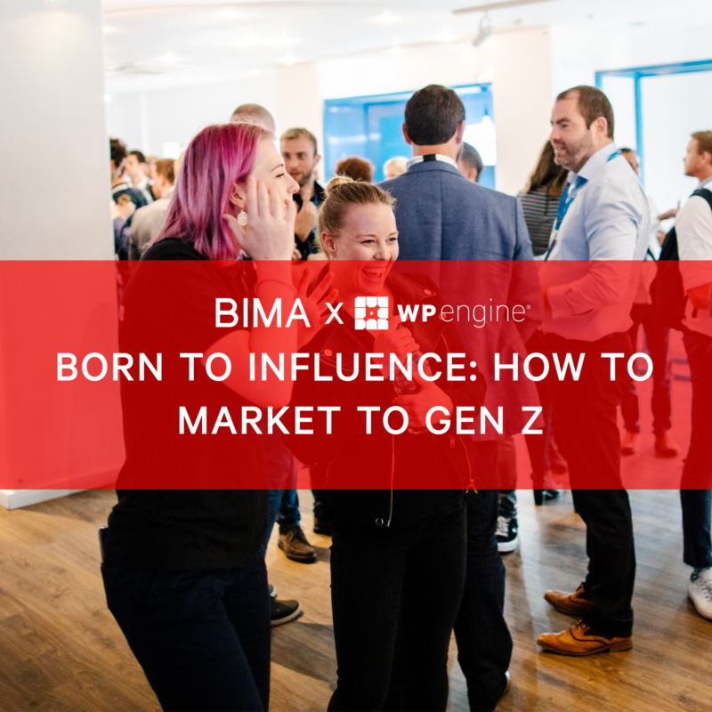 BIMA Hangouts | Born to Influence: How to Market to Gen Z
