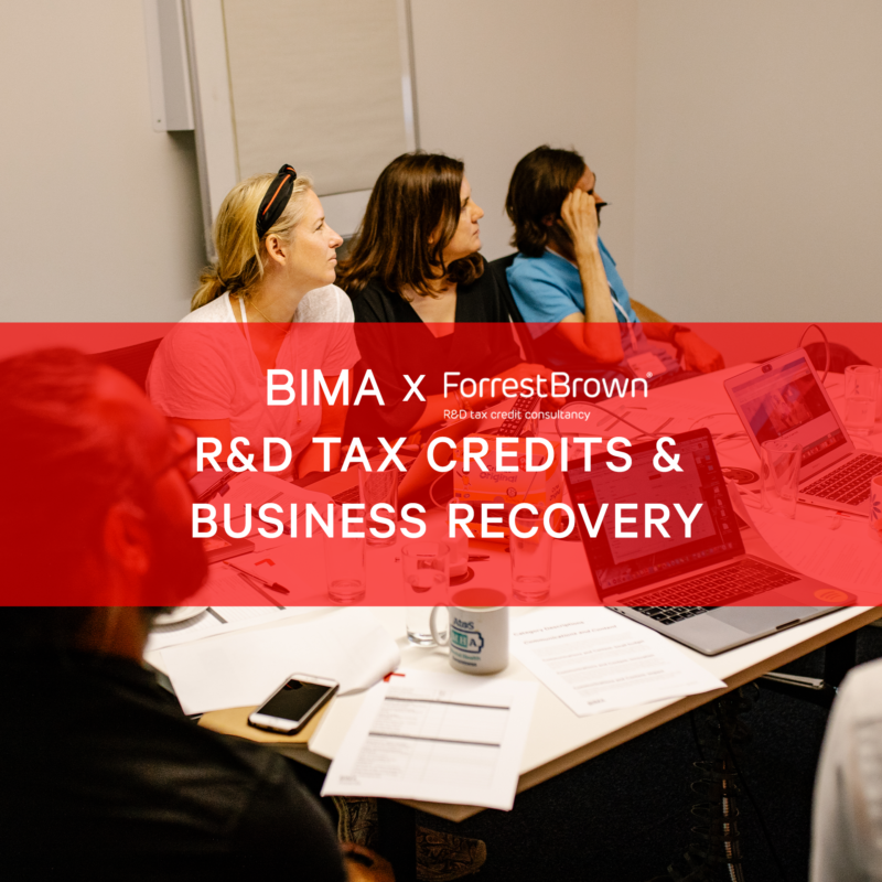BIMA X ForrestBrown Hangouts | R&D Tax Credits & Business Recovery