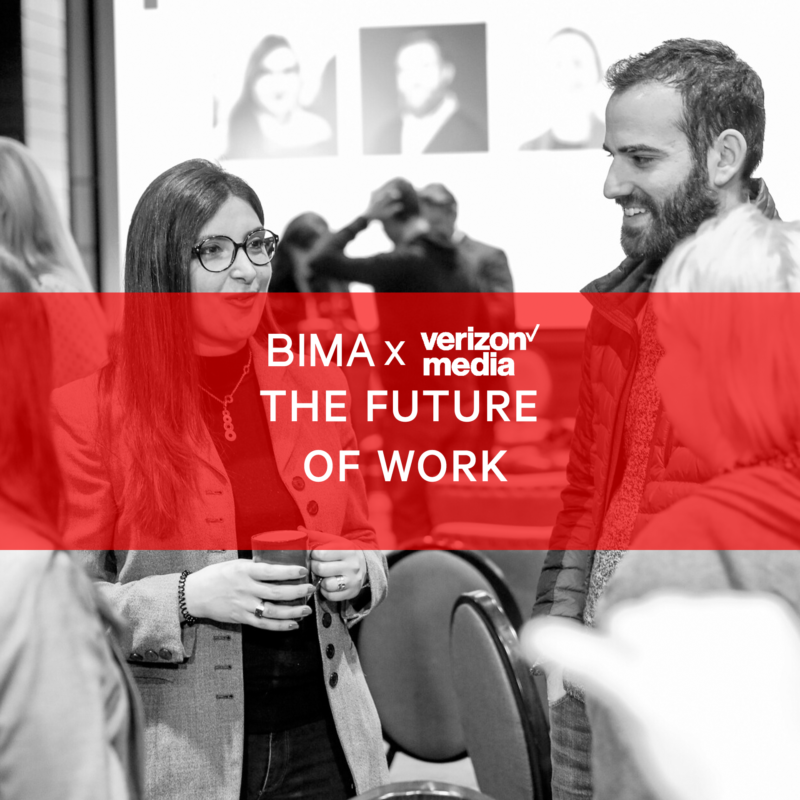 BIMA X Verizon Media: The Future of Work