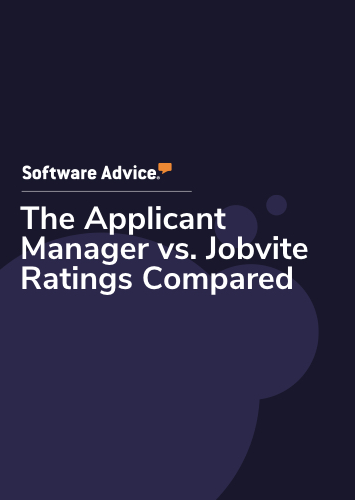 The Applicant Manager vs. Jobvite Ratings Compared