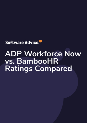ADP Workforce Now vs. BambooHR Ratings Compared
