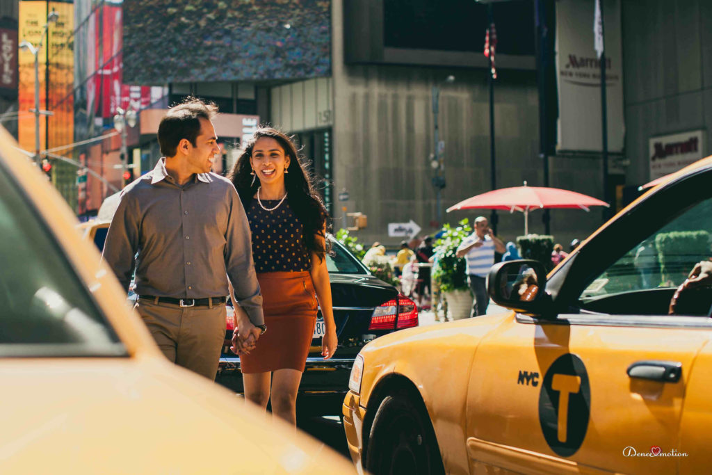Engagement Shoot in New York by Denee Motion