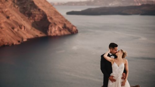 Wedding Videographers in Santorini