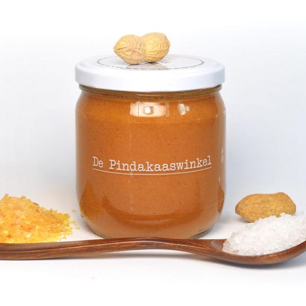 Beste pindakaas karamel zeezout, de pindakaaswinkel