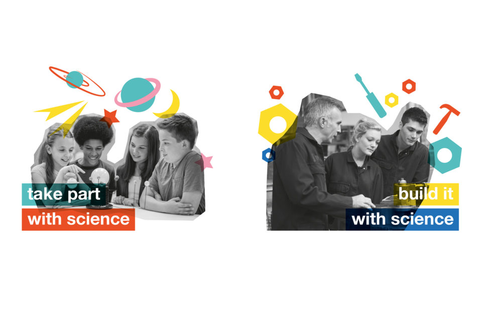 Team Science cut outs
