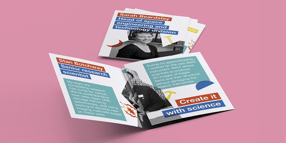 #TeamScience leaflet