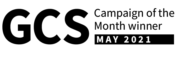GCS Campaign of the month winner. May 2021