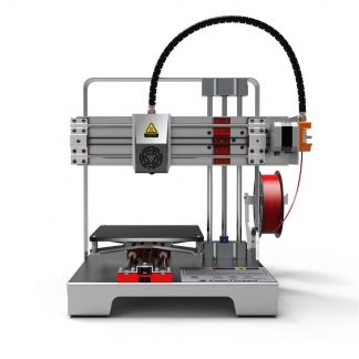 EasyThreed Mercury 3D Printer with red filament