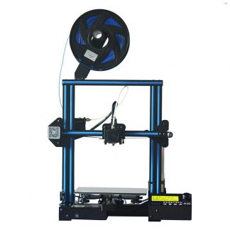 blue filament of 3D printer