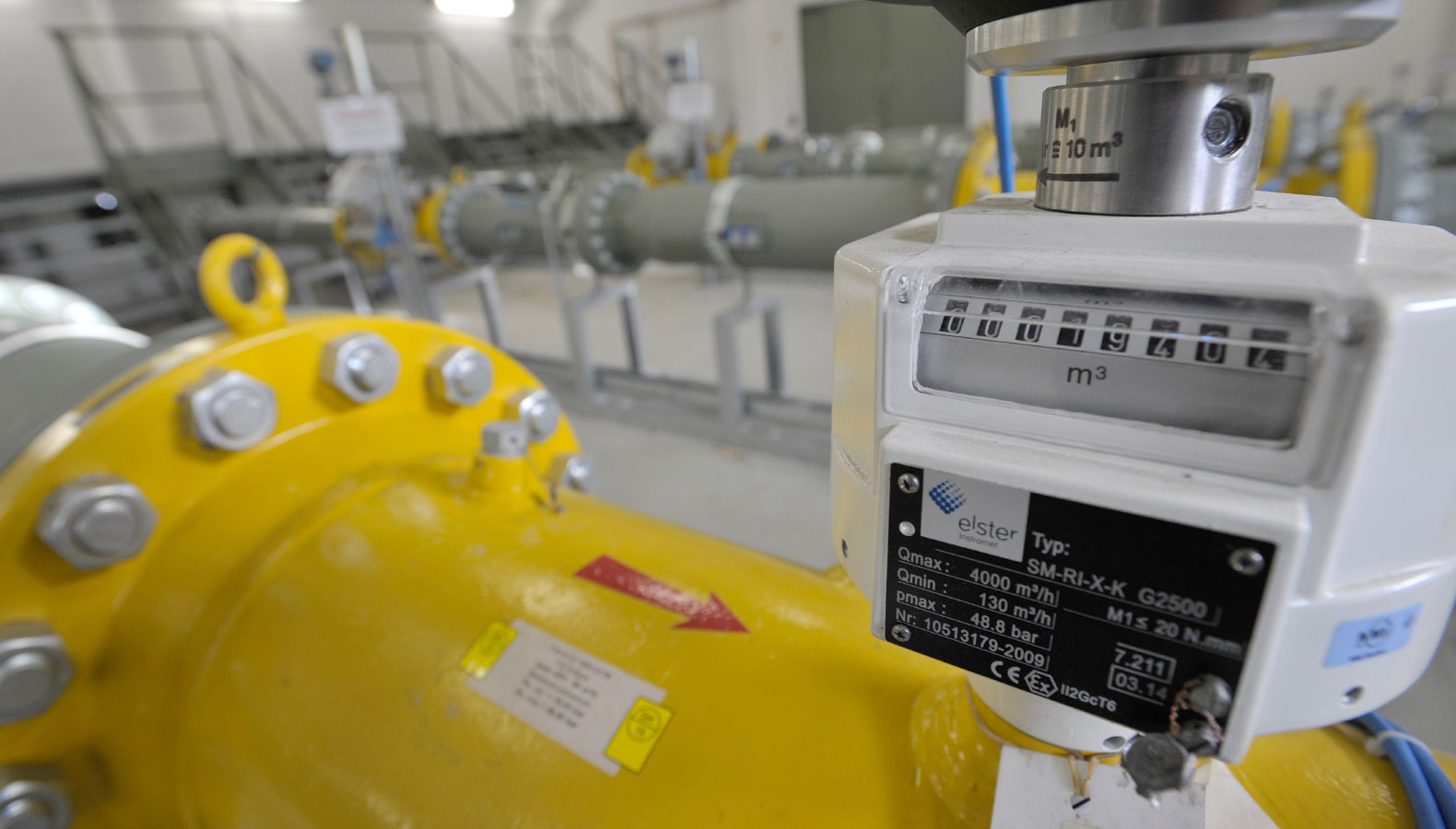 valve and meter reading
