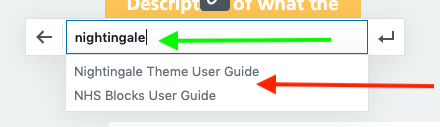 Adding a link to a button
