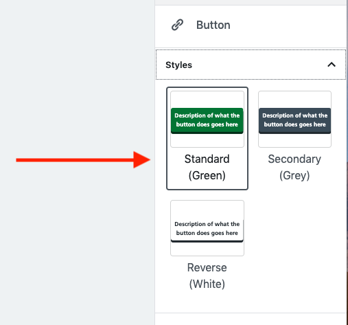 button style options