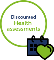 Discounted health assessments