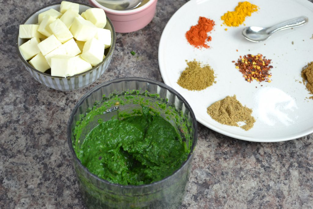 Palak Paneer Recipe Step by Step Photo