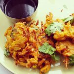Deliciously Crunchy Onion Pakoras or Onion Bhajji's