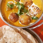 Malai Kofta | Spiced Potato Fritters in Tomato & Cream Curry