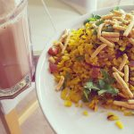 Poha | Indian Rice Flakes Breakfast Dish