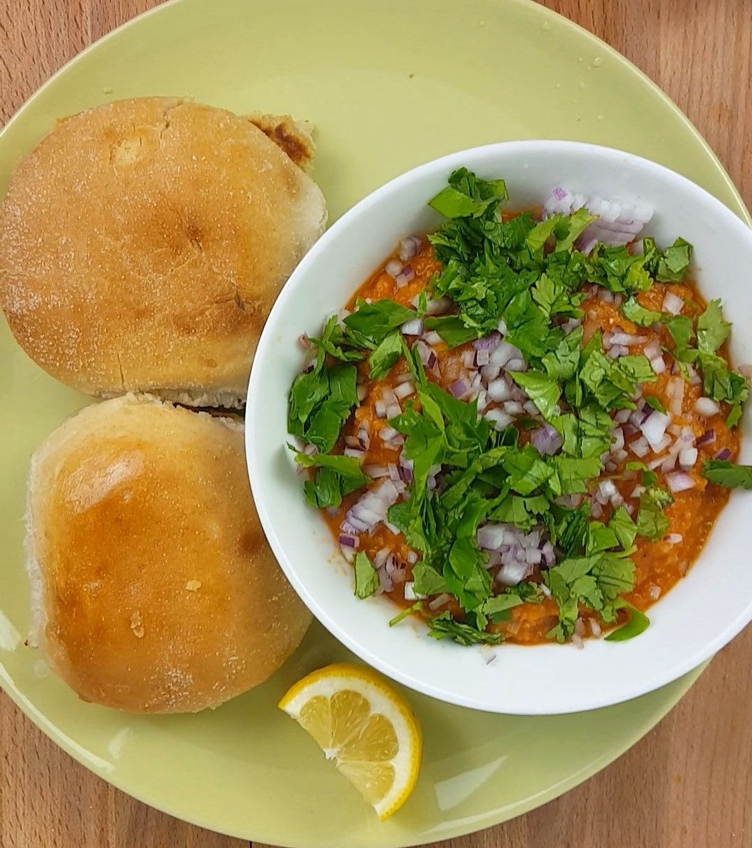 Pav Bhaji Recipe With Video Vegetarian Indian Recipes