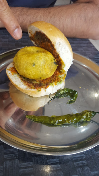 shree krishna vada pav - vegetarian food in London