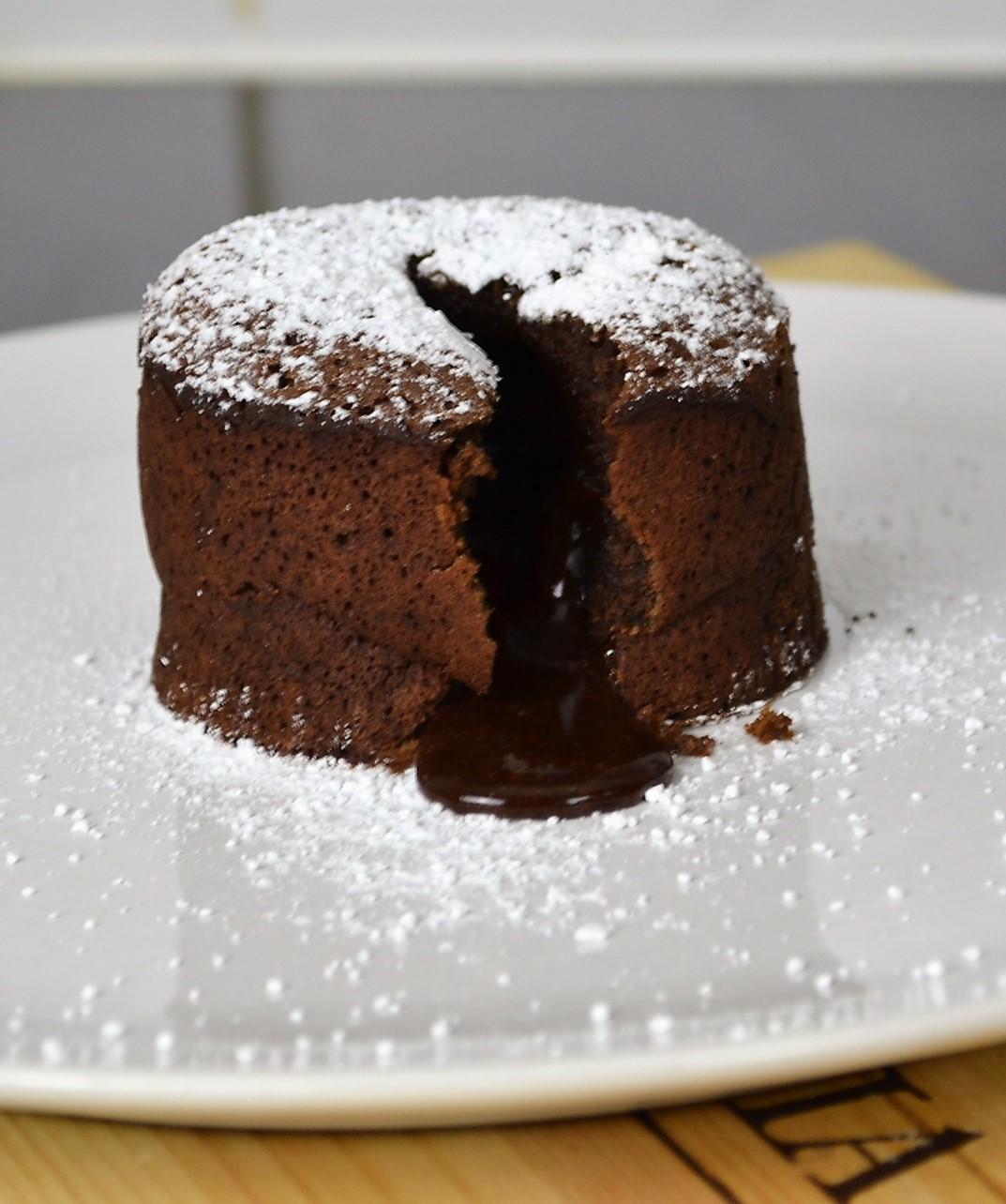 Gluten Free Molten Chocolate Cake