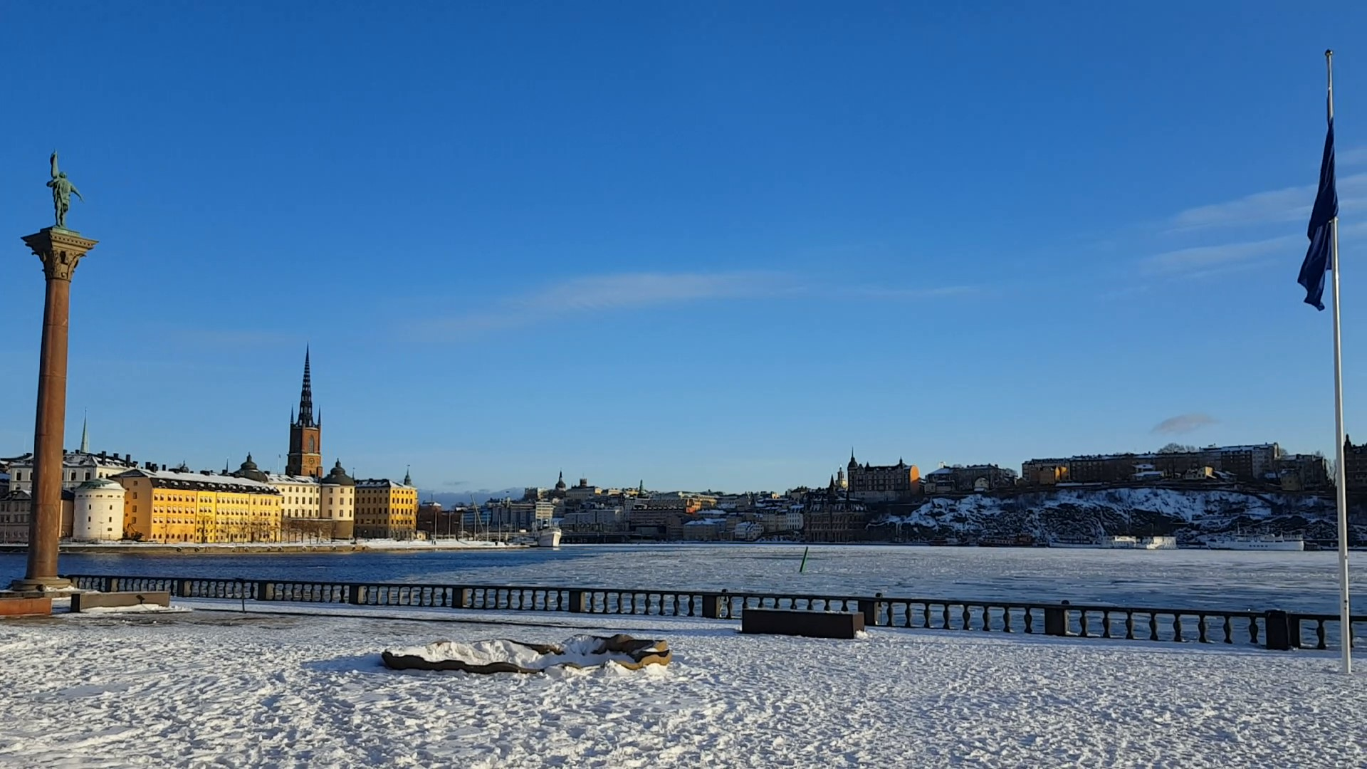 Visit Stockholm in the winter - View from the city hall dontask4salt