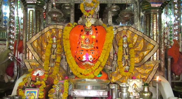 The trinetra Ganesha Temple in Ranthambore Fort, Ranthambore National Park, Rajasthan India