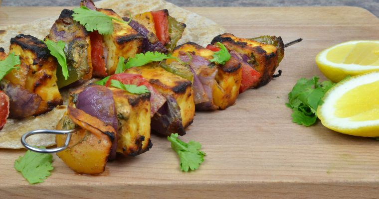 Tandoori Paneer Tikka at Home