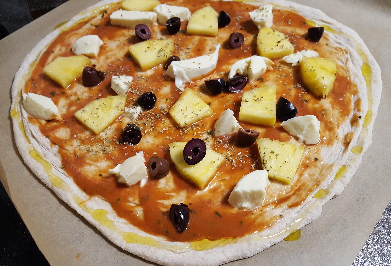 Sourdough pizza dough recipe