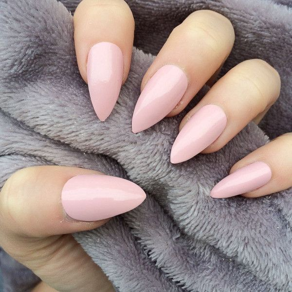 Baby Pink Gloss Stiletto