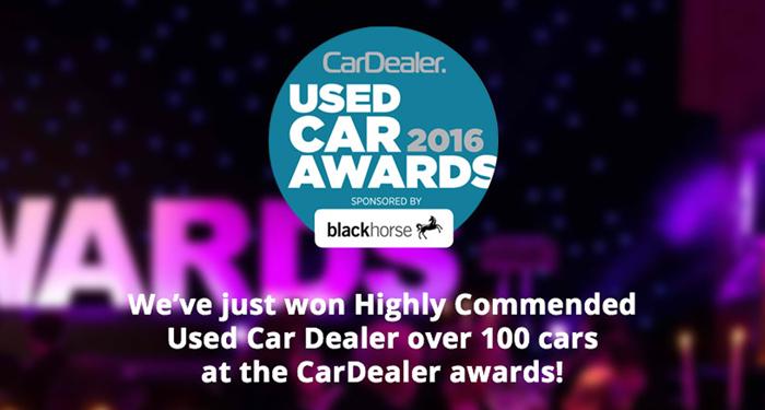 Ucob Award - Used Cars of Bristol