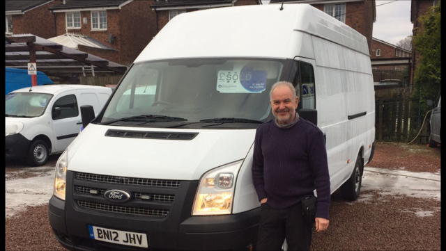 Clarksons sell a van to a customer in New Zealand !