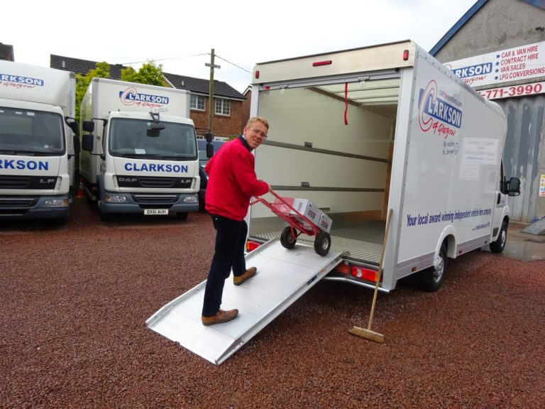 Self drive DIY removal vans available at Clarksons …