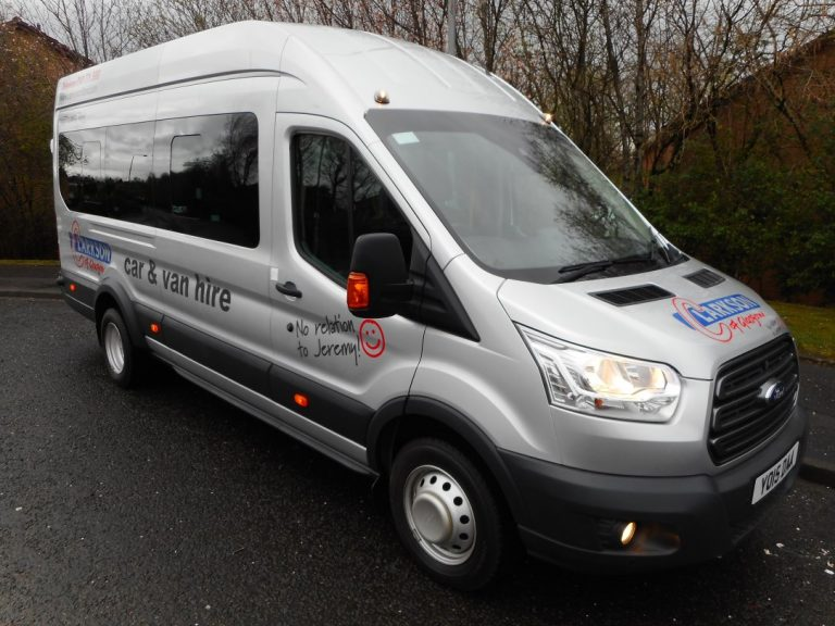 Spring time is mini bus time ! …. we rent them all